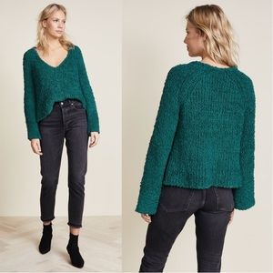 Free People•Sand Dune Crop Chunky Bell Sweater NWT